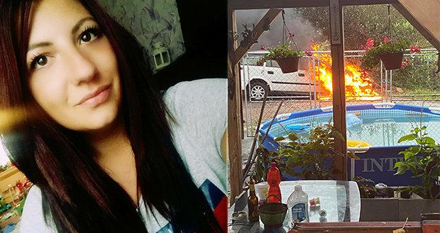 Katka zažila bití i nevěry, teď jí expřítel zapálil auto! Nebojte se ozvat, vzkazuje!