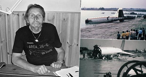 Zemřel Jaromír Kratochvíl, poslední český přeživší zřícení letadla v Bratislavě: Zabila ho těžká nemoc