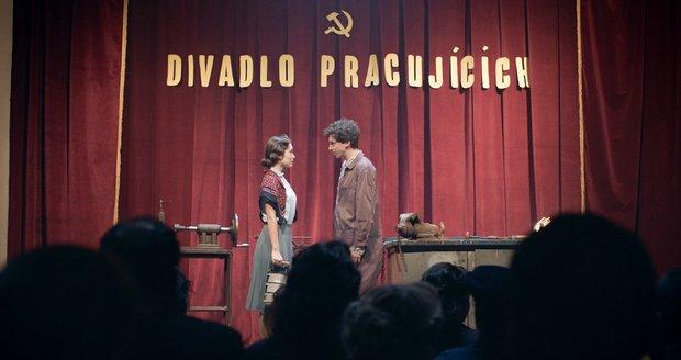Elizaveta  Maximová  a Jan Cina.