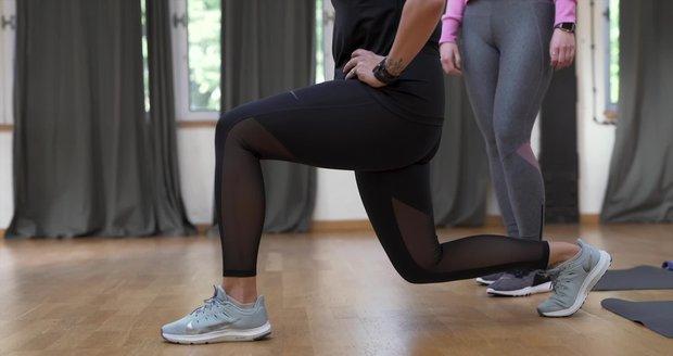 Super tělo s Bleskem pro ženy: Jak správně dělat výpady?