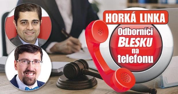 Odborníci na právní problematiku poradí už v pondělí 26. října.