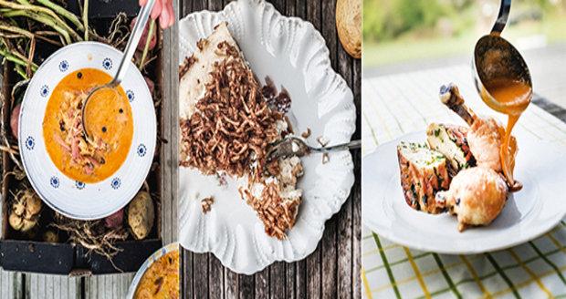 Recepty najdete v nové kuchařce Kůrčička křup, omáčka šplouch.