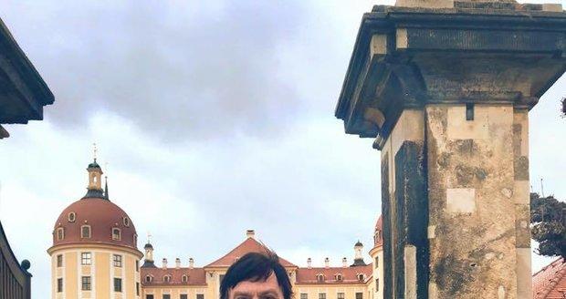 Pavel Trávníček v Moritzburgu