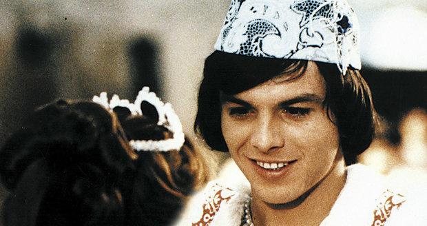 Pavel Trávníček jako princ v Popelce