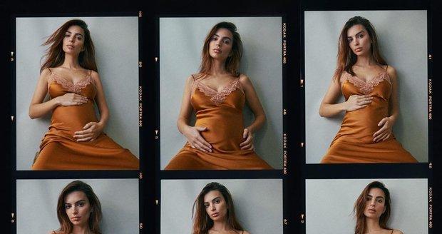 Takhle oznámila modelka Emily Ratajkowski své těhotenství.