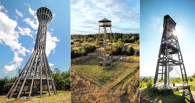 Kam se vydat na podzimní výlet ve středních Čechách? Zkuste rozhledny!