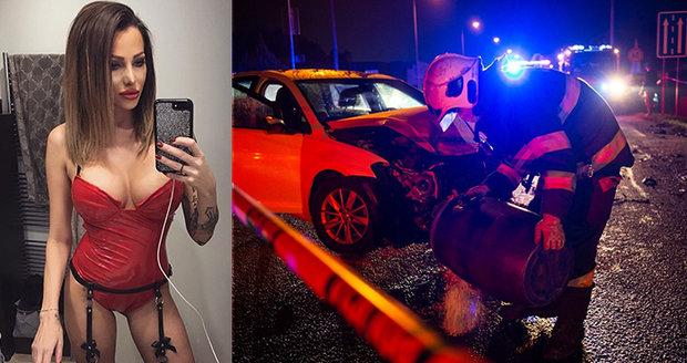 Bývalá miss Mirka o nehodě s předsedou parlamentu: Řekla, kam jeli! Kollár mlčí