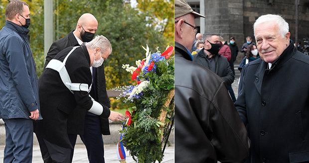 Koronavirus ONLINE: Klaus porušil opatření, Zeman položil věnec a Babiš apeloval na Čechy