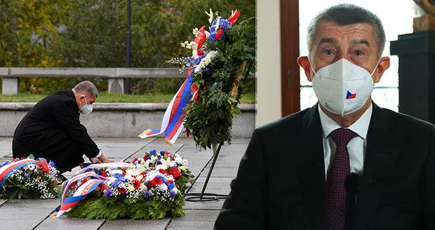 Babiš vyzval Čechy: Obejměte manželku a zapomeňte na omezení. Lidé se přou o slzy v očích