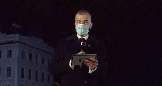 O tom, koho prezident Miloš Zeman vyznamená, mluvil moderátor Jakub Železný i v Událostech. (28. 10. 2020)