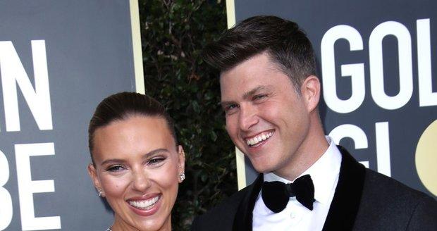 Novomanželé Scarlett Johansson a Colin Jost