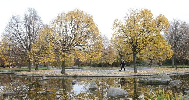 Podzimní počasí v Česku.