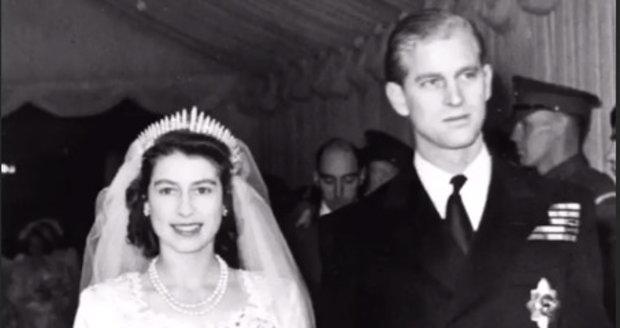 """Před 73 lety si Philip s Alžbětou řekli své """"ano"""""""