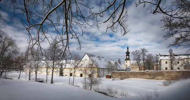 Areál Žďárského zámku