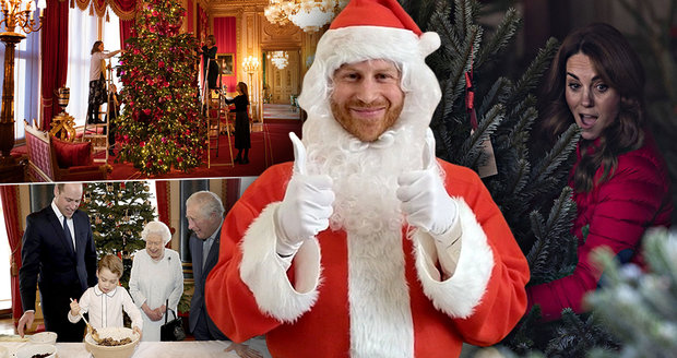 Vánoční tradice v královské rodině