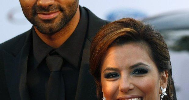 """""""Zoufalá manželka"""" Eva Longoria a její bývalý manžel basketbalista Tony Parker"""