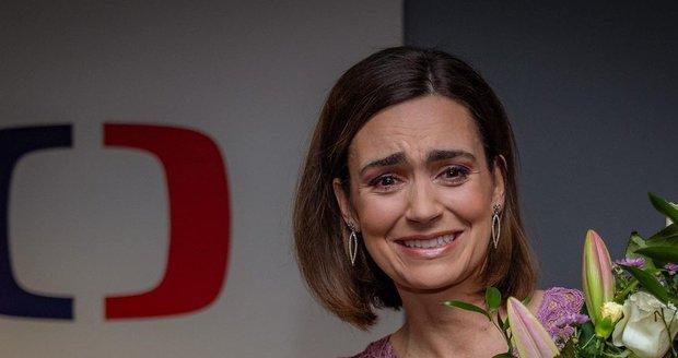 Daniela Písařovicová se loučila v České televizi.