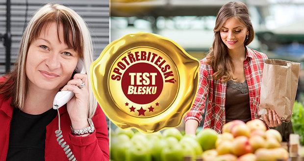 Nutriční terapeutka Věra Boháčová využívá spotřebitelské testy Blesku pro svou práci.