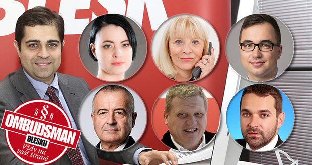 Ombudsmani Blesku přejí všem čtenářům hodně zdraví a úspěchů v novém roce.
