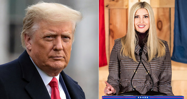 """Ivanka se chystá na Bidenovu inauguraci. """"Největší chyba jejího života,"""" pění Trump"""