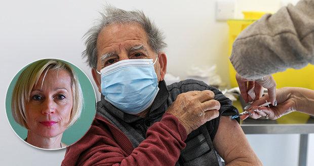 Psycholožka Lenka Čadová o křehké psychice seniorů ve spojitosti s očkováním.
