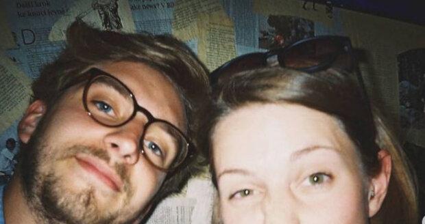 Eliška Hanušová s manželem.