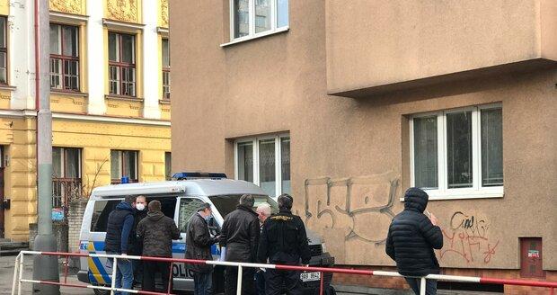Násilný trestný čin na pražské Klamovce, 20. ledna 2021.