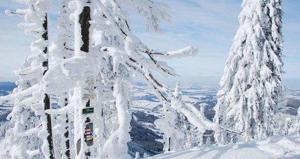 Beskydská magistrála nabízí na 300 km udržovaných běžkařských tratí.