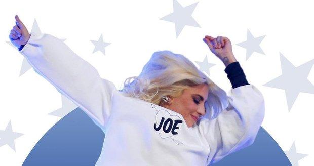 Lady Gaga se na inauguraci těšila