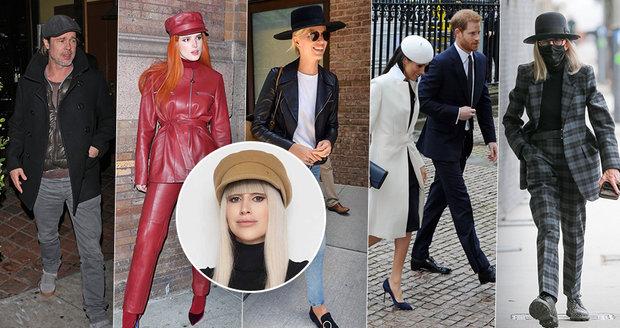 Jak se celebrity popasovaly s nošením klobouků a jiných pokrývek hlavy?