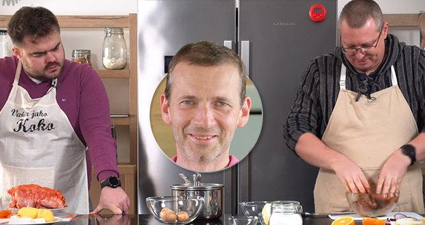 Vláďa a Patrik tentokrát vaří jeden pro druhého.