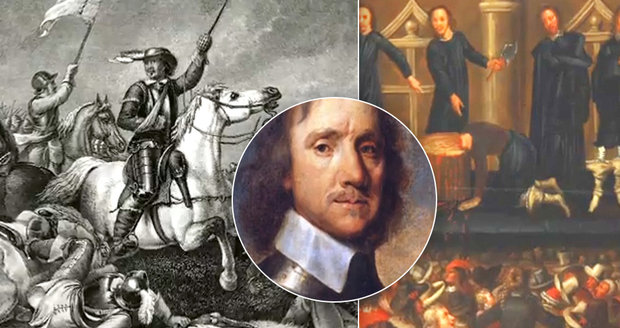 The harsh end of the dictator who had the king executed: Oliver Cromwell was pulled from the grave and quartered