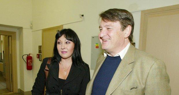 Ladislav Štaidl a Dáda Patrasová