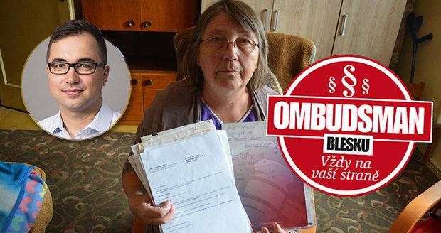 Anna Hradílková má radost. Dva roky  se domáhala vyúčtování od firmy  Lidová energie s.r.o. a nedařilo se jí to.  Pomohl jí až Ombudsman Blesku.