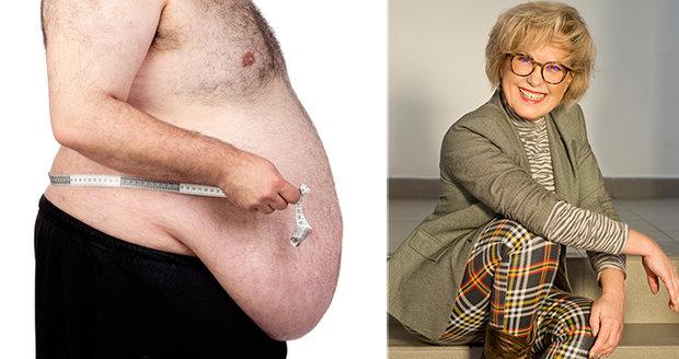 Internistka MUDr. Kateřina Cajthamlová upozorňuje na předsudky vůči lidem s nadváhou.