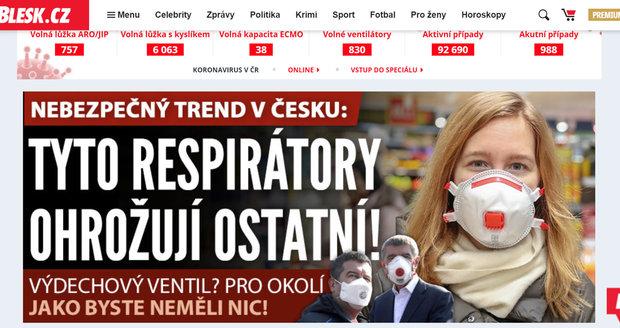 Web Blesk.cz vám denně přináší to nejdůležitější, nejaktuálnější a nejzajímavější zpravodajství