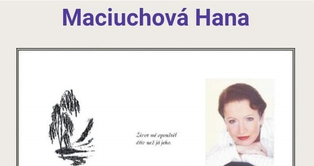 Parte Hany Maciuchové