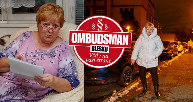Martina Veselá (63) věnovala Praze vánoční strom a teď s ní bojuje o odškodné.