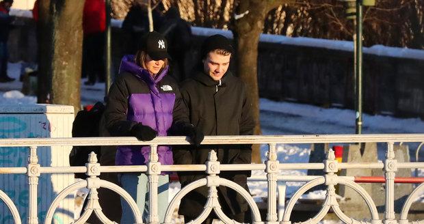 Valentýnské rande Andrey Bezděkové a Marka Lambory