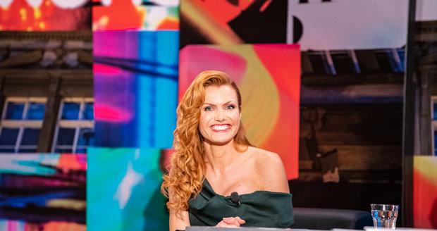 Gabriela Koukalová v talkshow 7 pádů Honzy Dědka.