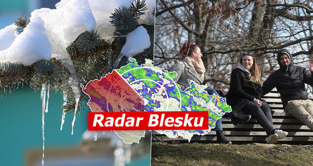 Teplý start března: Až 14 °C, ale i mlhy. Kdy napadne nový sníh? Sledujte radar Blesku