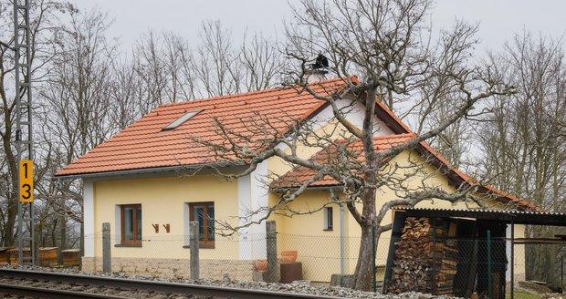 Ve Vochově na Plzeňsku se 24. března 2021 v noci vloupal muž do domu (na snímku). Jeho majitel po něm vystřelil a usmrtil ho.