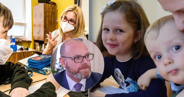 Niños de nueve años de forma voluntaria, pruebas y respiradores también en jardines de infancia: Plaga destacó el regreso de los alumnos