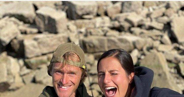 Jakub Vágner a nová přítelkyně Claudia Darga