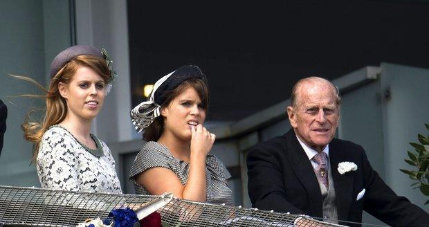 Princezna Eugenie s princem Philipem