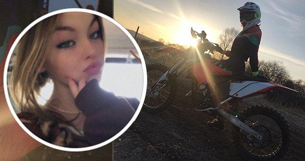 La coureuse de motocross († 15) est décédée lors d'un entraînement à Lipno: elle n'est pas la première morte sur cette piste!