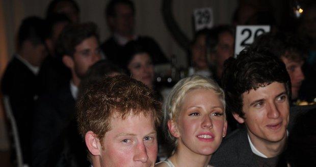 Princ Harry s Ellie Gouldingovou