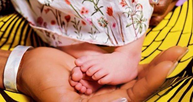 Naomi Campbell se stala v 50 matkou.