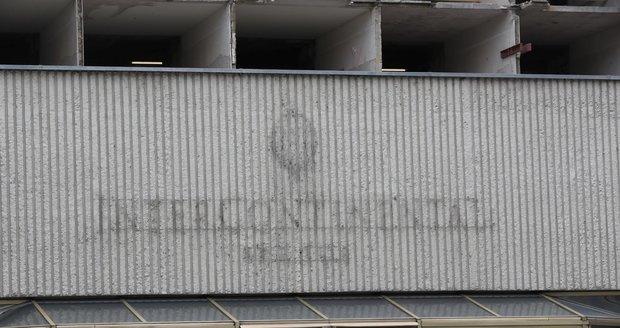 Rekonstrukce hotelu InterContinental. (28. května 2021)