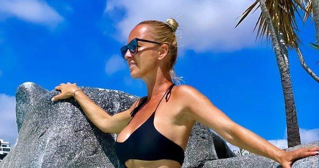 Zuzana Belohorcová na Tenerife